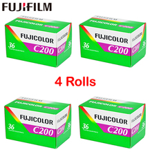 4 Roll/lot Fujifilm C200 Color 35mm Film 36 Exposure for 135 Format Camera Lomo Holga 135 BC Lomo Camera Dedicated