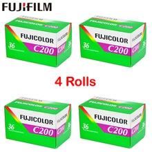 4 Roll/lot Fujifilm C200 Kleur 35mm Film 36 Blootstelling voor 135 Formaat Camera Lomo Holga 135 BC Lomo Camera Gewijd