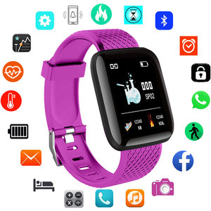Square Smart Women Watches Fas