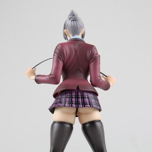 22cm Anime Sexy Figure Prison School Shiraki Meiko Japanese Action Figures PVC Collection Model toys for christmas gift 5