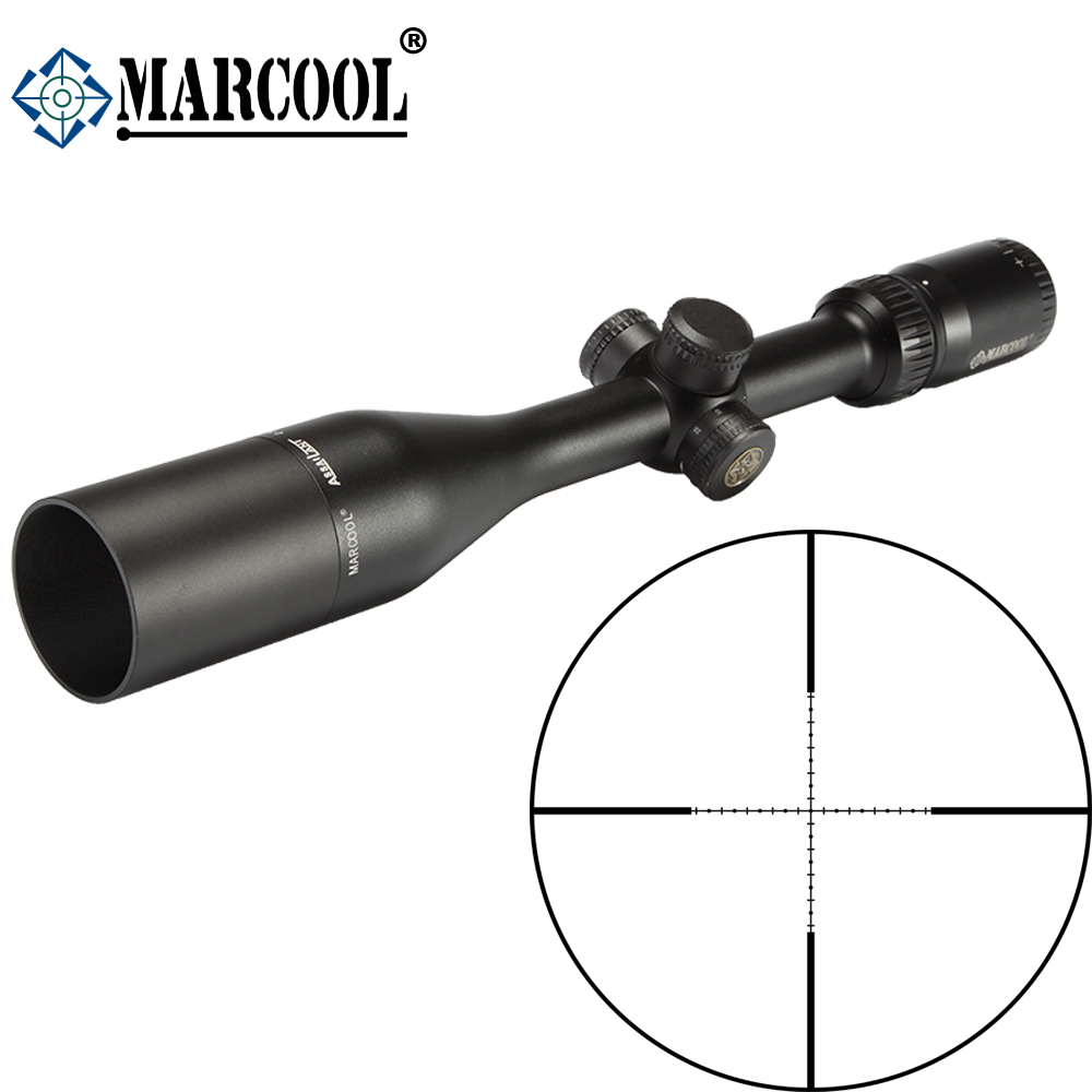 MARCOOL ALT 4-14X44 SF Optical Sight Hunting Riflescope Scope For Rifles Airsoft Air Guns MAR-054 marcool alt 4 5 18x44 sfl with big wheel hunting optical sight airsoft air guns scopes riflescope for pistola airsoft air guns