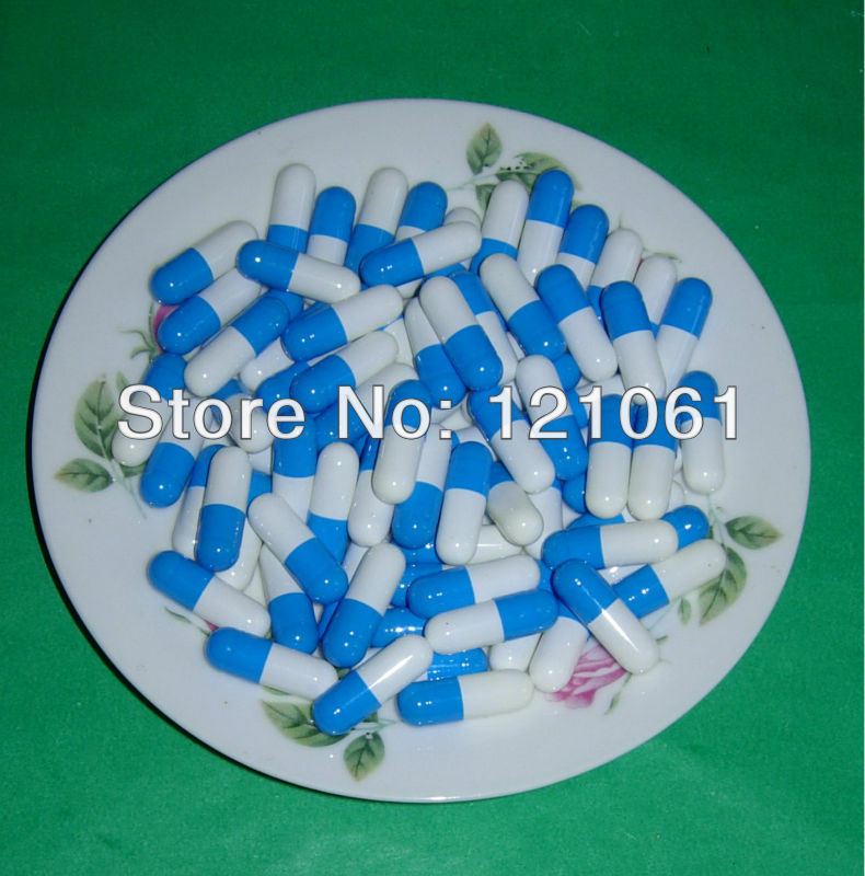 00 10 000pcs joined or seperated capsules size 00 blue white empty capsules size 00 hard