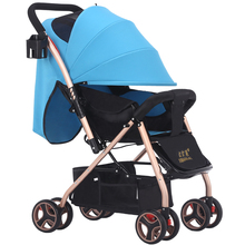 newborn baby stroller light folding baby Four Seasons Portable Baby Pram Carriage Folding Umbrella Trolley