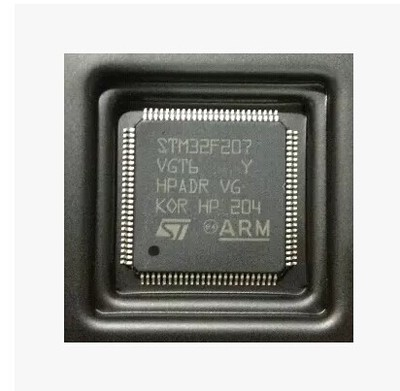 Original LQFP-100 STM32F207VGT6 ARM 32-bit microcontroller chip Ethernet MAC