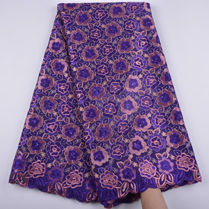 Image 3 - la suisse afrique tissu coton tissus de dentelle haute qualité voile lacets dentelle française tissu tissu chaque robe a1344 hommes femmes
