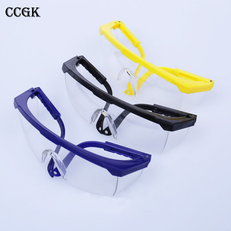 Safety Goggles telescopic  anti-dust anti-impact glasses protective labor pc glasses wind mirror eyewear 3 colors 12 pairs/lot newest raceface next road bike full carbon fibre bicycle handlebar road bike parts internal cable 31 8 400 420 440mm free ship