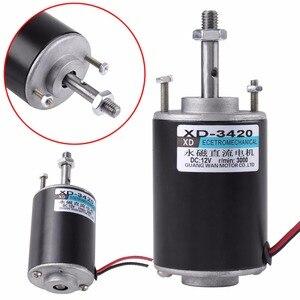 Image 3 - 1pc DC 12/24V 3000RPM/6000RPM elektryczny magnes trwały 30W CW/CCW sterowania 71x51mm dla DIY Generator