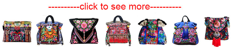 Ethnic Embroidered Bag 9
