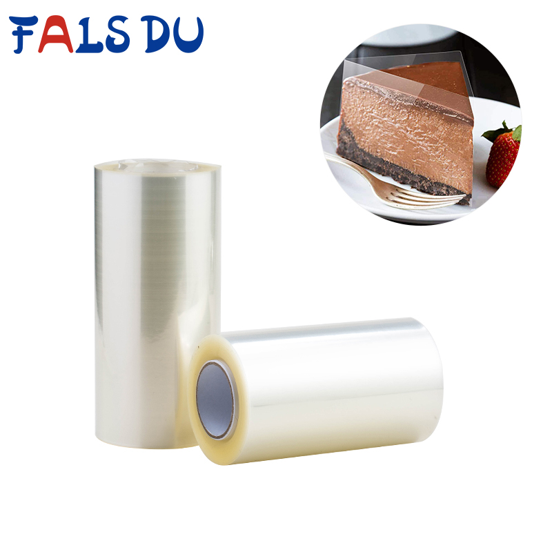 Wrapping-Tape Cake-Decorating-Tools Packing Baking-Cake-Collar Transparent for Roll DIY