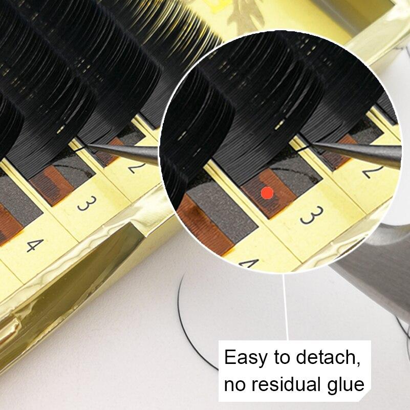 Шелковый Индивидуальный Накладные ресницы норки эллипса без каблука ресницы расширение, 3D натуральные ресницы 0,15/0,2 8-13 мм B/C/D локон