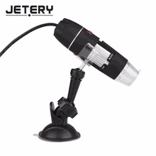 Wholesale prices Jetery 50-500X 2MP USB LED Digital Microscope Endoscope Video Camera Magnifier w/ Stand
