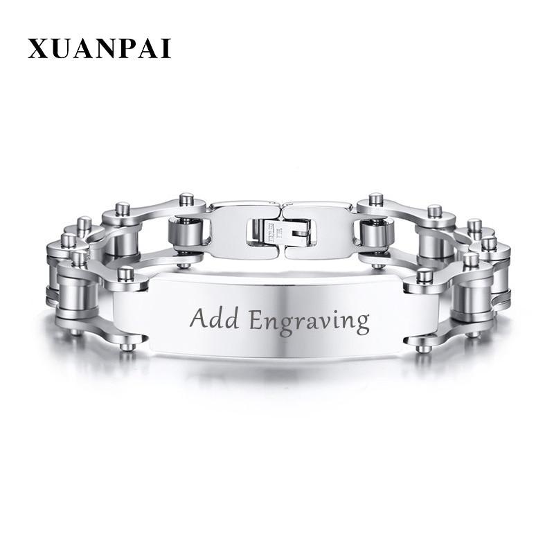 Stainless Steel Silver Tone Mens Unique Bracelet