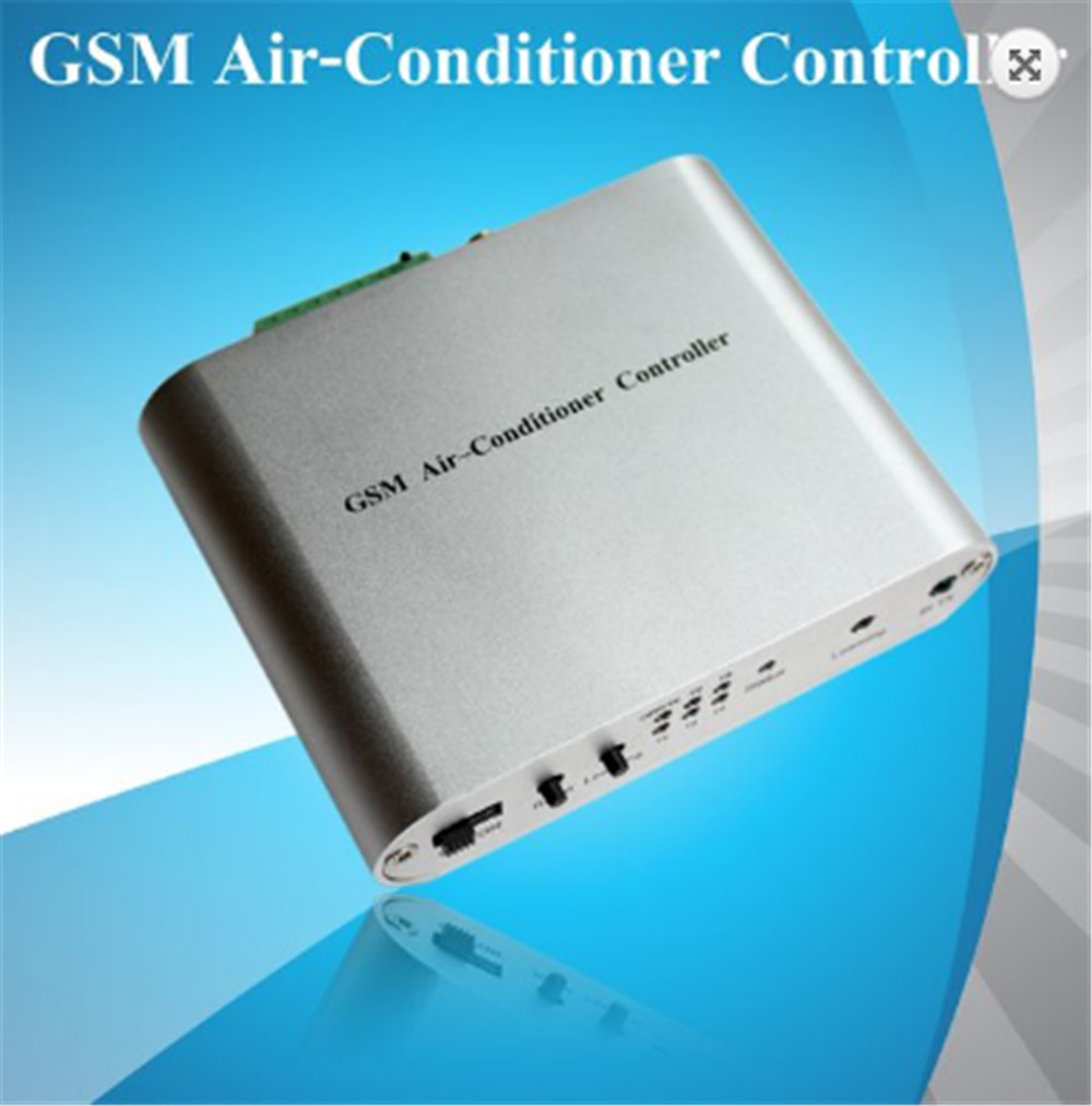 GSM Air Conditioner Remote Controller SMS Timing Temperature Control Alarm System free shipping 1pcs mobile remote control gsm sms controller alarm control relay module