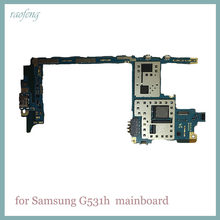 Raofeng high quality for Samsung galaxy g531h motherboard with Android System unlocked mainboard with chips Logic Boards(China)