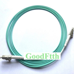 Image 1 - Fiber Patch Cord Jumper Cable LC LC Multimode OM3 50/125 10G Simplex GoodFtth 20 100m