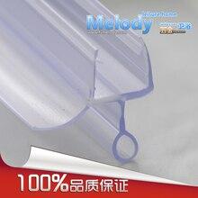 Me-306 экран для Ванной Душа резиновые большие уплотнения водонепроницаемые полоски стеклянные дверные уплотнения длина: 700 мм
