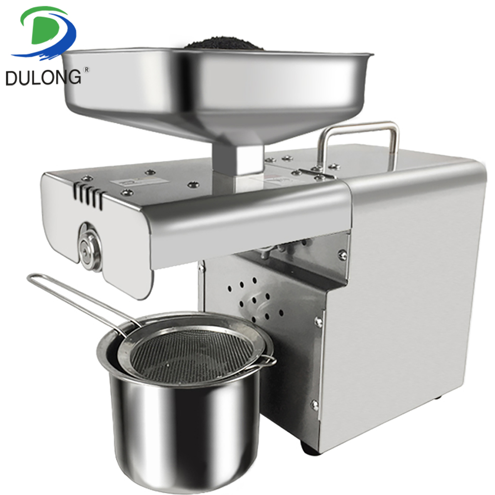 Automatic oil cold press machine high oil extraction rate oil extractor peanut coconut etc Oil Press Machine