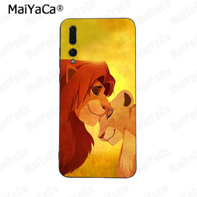 Maiyaca The Lion King Grumpy Cat Simba Phone Case For Huawei P9 P10 Plus Mate9 10 Mate10 Lite P20 Pro Honor10 View10 Cellphones & Telecommunications