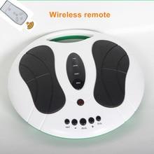 Voet massage elektrische machine reflexologie spa met infrarood verwarming lage frequentie puls acupunctuur EMS TIEN circulatie booster