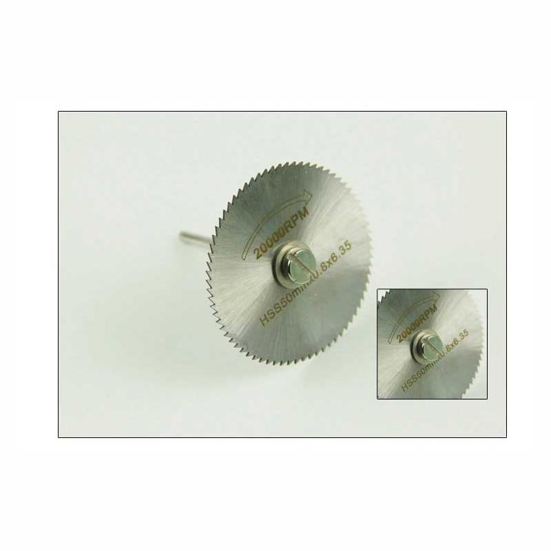 7PCS HSS Discuri de tăiere lamă de ferăstrău circular rotativ - Instrumente abrazive - Fotografie 4
