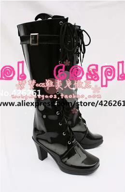 Anime principiante AKB48 vocaloid miku cosplay party punk lolita botas zapatos