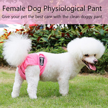 3Pcs Dog Diapers Female Short Washable Menstruation Underwear Briefs Physiological Sanitary Pants