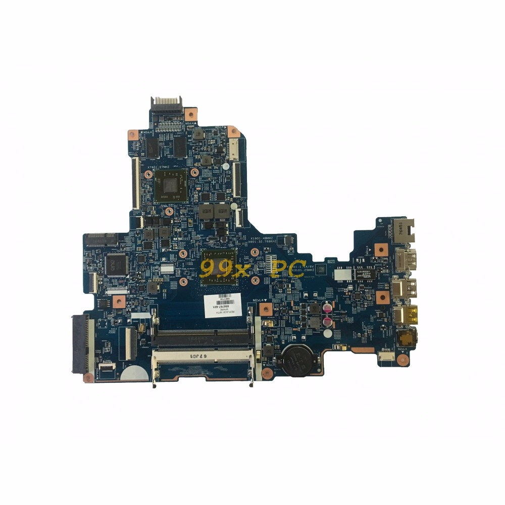 LAOKE FOR HP 17-Y Laptop Motherboard W/ FOR A8-7410 CPU 856767-601 448.08G03.0011 15286-1 W/ GPU DDR3 Test ok