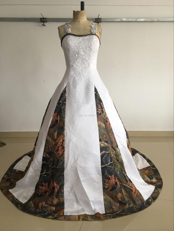 online get cheap camo plus size wedding dresses -aliexpress
