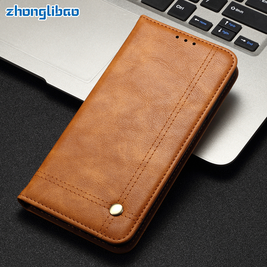 Redmi K20 Pro Magnetic Flip Case for <font><b>Xiaomi</b></font> Mi 9t Pro Coque Luxury Retro Leather Wallet Stand Card Holder Redmi K20 Phone Cover image