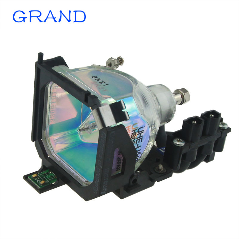 ELPLP14-V13H010L14 Replacement Projector Lamp with Housing for EPSON EMP-503 EMP-505 EMP-703  180 days warranty HAPPY BATE shp110 compatible projector lamp bulb 030wj for sharp xr 40x xr 30x xr 30s free shipping 180 days warranty