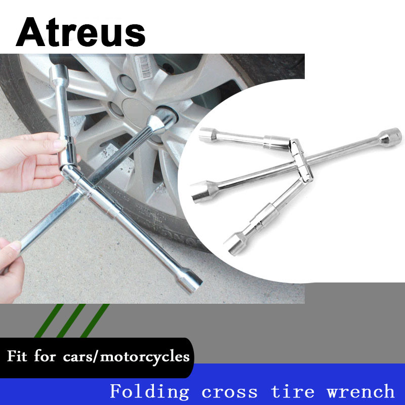 Atreus Car Tire Disassembly Assembly Socket Wrenches Repair Tools For Mercedes benz W204 W203 W211 AMG Mini cooper Skoda octavia