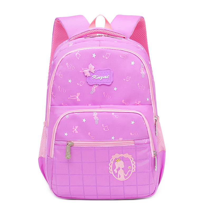Kids School Bags Children School Backpacks Waterproof Nylon Girls Princess Schoolbags Printing Backpacks Kids Book Bag Mochila