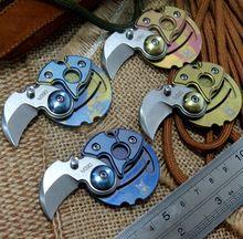 Lo nuevo de La Moneda de bolsillo plegable cuchillo M390 hoja titanium Supervivencia que acampa Cuchillos de caza táctico al aire libre EDC herramienta