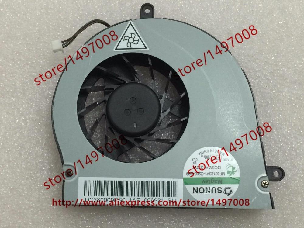 SUNON MF60120V1-C200-G99, DC280009PS0 DC 5V 2.0W 3-Pin Server Baer fan free shipping for sunon kde0505phb2 dc 5v 1 9w 2 wire 3 pin 50x50x15mm server square fan
