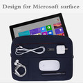 "Diseño creativo libro 13.5 de la moda portátil bolsa de la manga para microsoft surface microsoft surface pro 4 tablet case cubierta 12.3 ""Pro4"