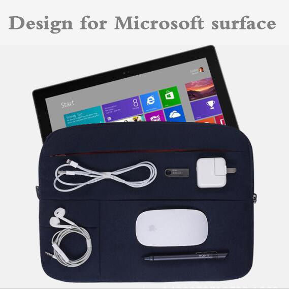 Sleeve For Microsoft Surface Book 2 13.5 For Surface Pro 4 5 12.3 Fashion Design Case Tablet Cover Pouch For Pro4 Pro5 Pen Gift ...