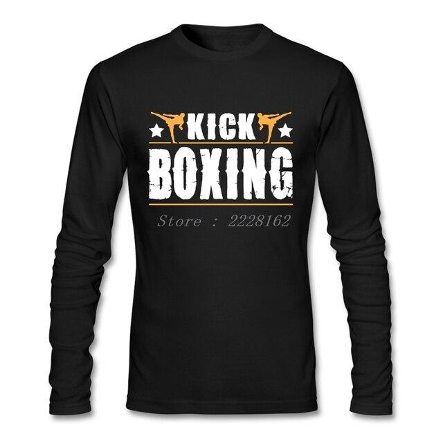 89cfc0e1 Kick Boxinger T-Shirts Men Luxury Cheap Muay Thai Tops Fun Custom Printed  Cotton t shirts Adult