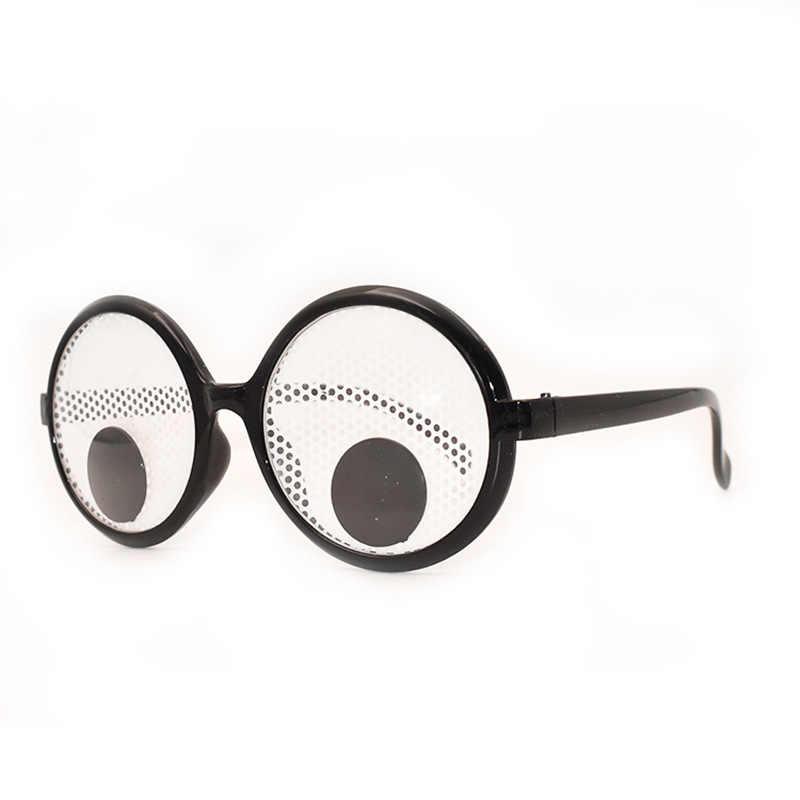 Новый Карнавальный костюм для вечеринки, забавные очки для глаз, дрожащие глаза, очки для вечеринки и игрушки для Декор для Хэллоуина, вечеринки