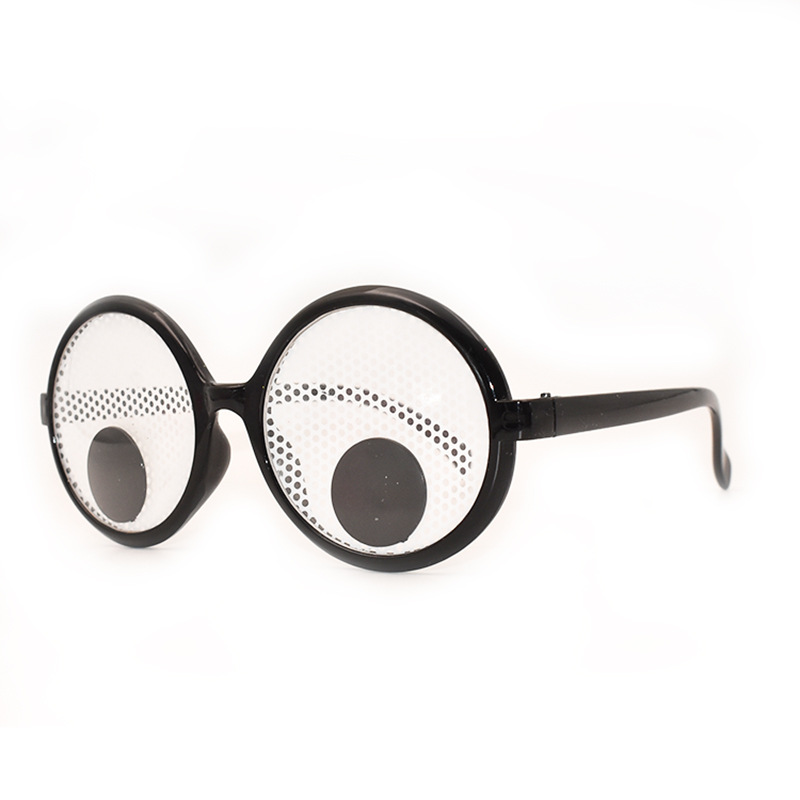 Funny Googly Eyes Goggles Shaking Eyes Party Glasses for Halloween/&Party Deco FK