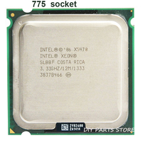 INTEL XONE X5470 CPU INTEL X5470 PROCESSOR 775 quad core 3.3MHZ LeveL2 12M Work on LGA 775 motherboard