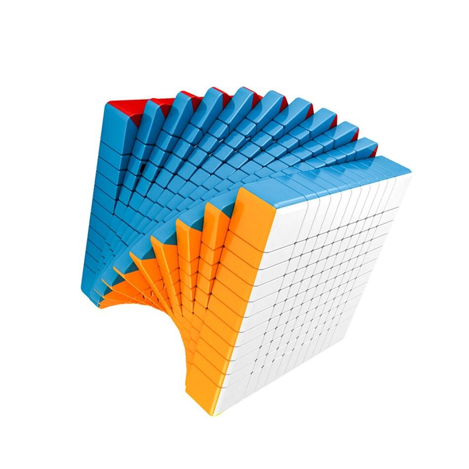 Découpe salle de classe magique cubo puzzle MoYu Meilong 10x10x10 11x11x11 haut niveau Cube de vitesse 11x1110x10 jouets éducatifs professionnels - 5