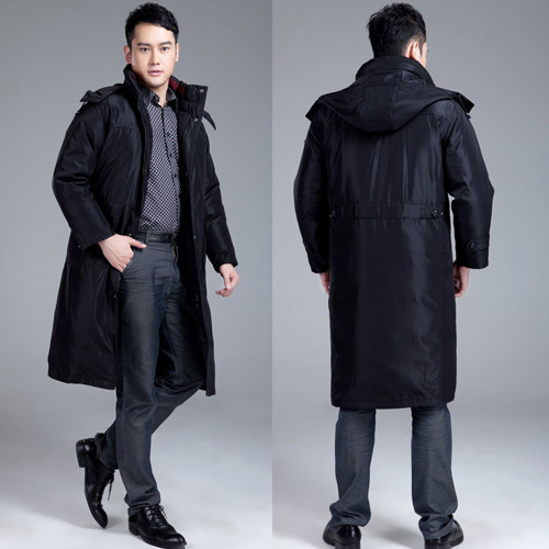 2015 Winter New Men's Thickening Plus Size Long Down Coat Men ...
