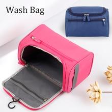 цена на Makeup Bag Cheap Women Bags Men Large Waterproof Nylon Travel Cosmetic Bag Organizer Case Necessaries Make Up Wash Toiletry Bag
