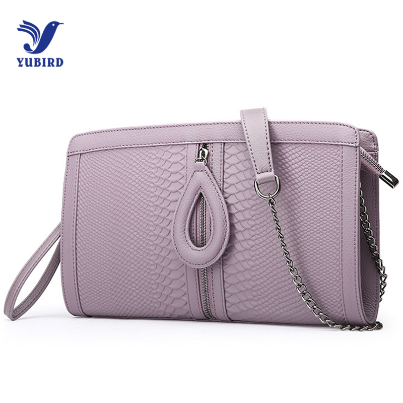 YUBIRD Fashion Women's Clutch Bag Genuine Leather Crocodile Women Envelope Bags Clutch Evening Bag for Female Clutches Handbags kpop fashion knitting women s clutch bag pu leather women envelope bags clutch evening bag clutches handbags black free shipping