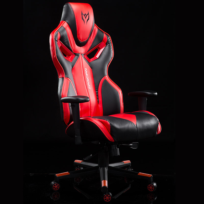Big and Tall Gaming Chair Large Size Racing Chair High-back Ergonomic Computer Chair Leather Swivel Executive Office Chair racing bucket seat office chair high back gaming chair desk task ergonomic new hw54987ltbl