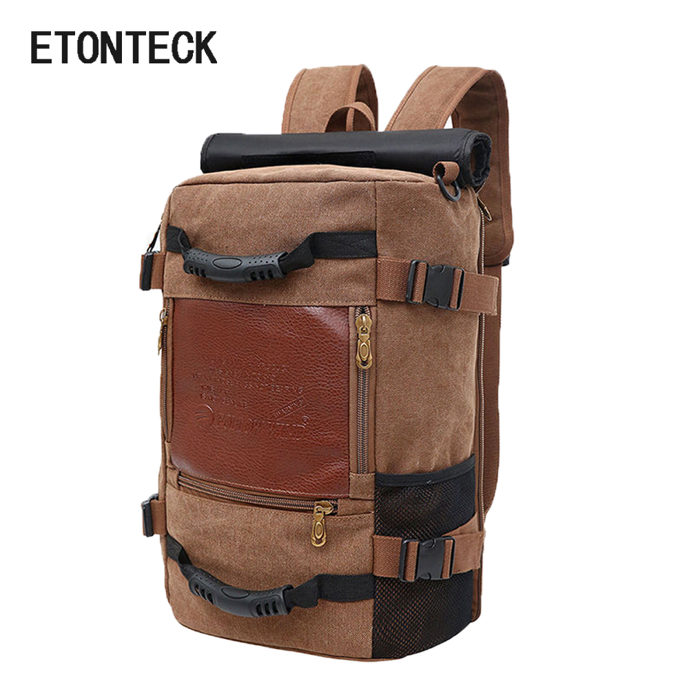 2018 Brand Stylish Travel Large Capacity Backpack Male Luggage Shoulder Bag Computer Backpacking Men Functional Versatile Bags fashional men blue canvas backpack huge travel school shoulder computer backpacking hot sale male functional versatile bags h012