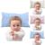 Travesseiros de bebê Recém-nascido Inverno Sono Infantil Cama Travesseiro Macio Conforto Travesseiro de Cristal Rosa Azul Amarelo Produtos de Cama de Bebê