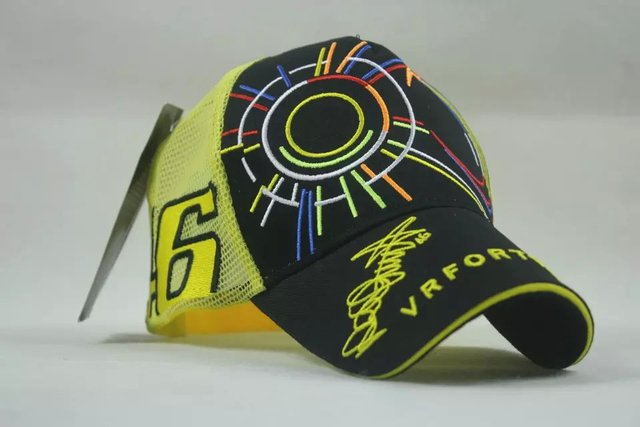 OFFICIAL MESH TRUCKER THE DOCTOR MOTOGP FOR VALENTINO ROSSI SIGNED DRIVER  46 DRIVER BASEBALL HAT RACING CAP VR46 RIDER da96a47c42c