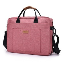 Men's Nylon Laptop Briefcase Bag Office Travel Messenger Large Tote Women Notebook Computer Work Bag Business Trip File Package
