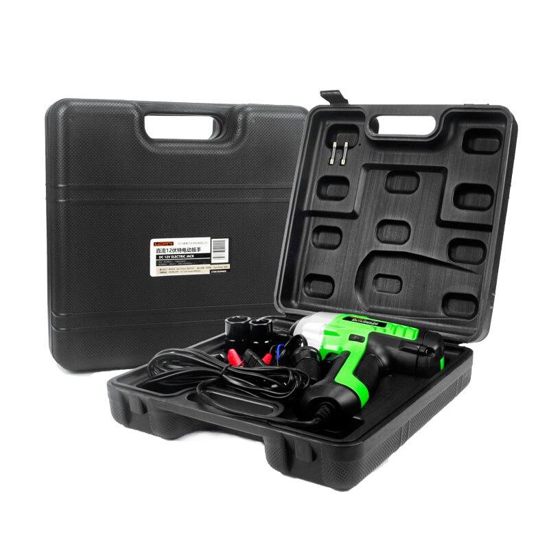Nouvelle mise à niveau 450n. m clé électrique Dc 12 v voiture Impact voiture/suv changement des outils de pneu 1/2 connecteur avec accessoires